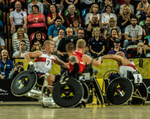 USA Wheelchair Basketball at 2014 Invictus Games