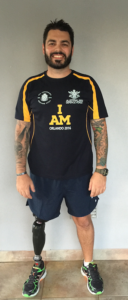 Australian Team Captain Paul Warren