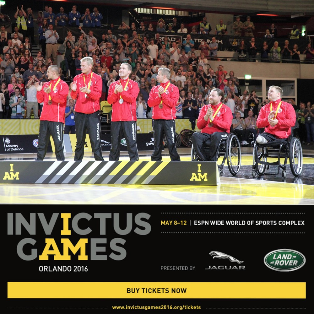 Denmark Team at Invictus Games 2016