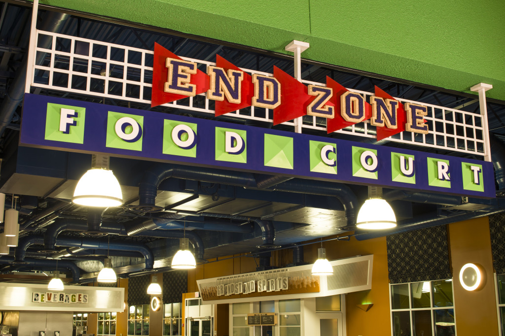 Disney's All Star Sports_Dining_End Zone Food Court