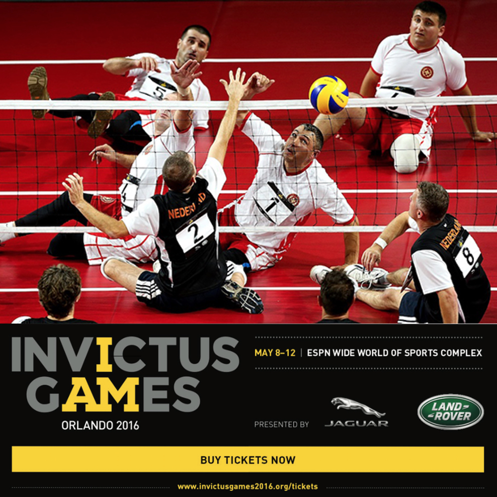 Georgia Team at Invictus Games 2016