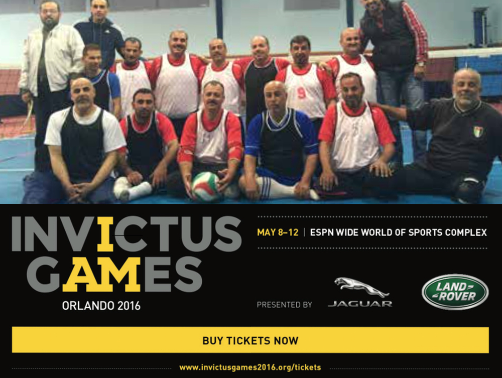 Jordan Team Competing at Invictus Games