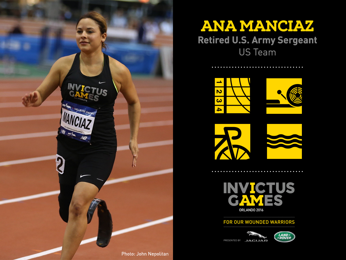 Picture of Ana Manciaz for Invictus Games 2016