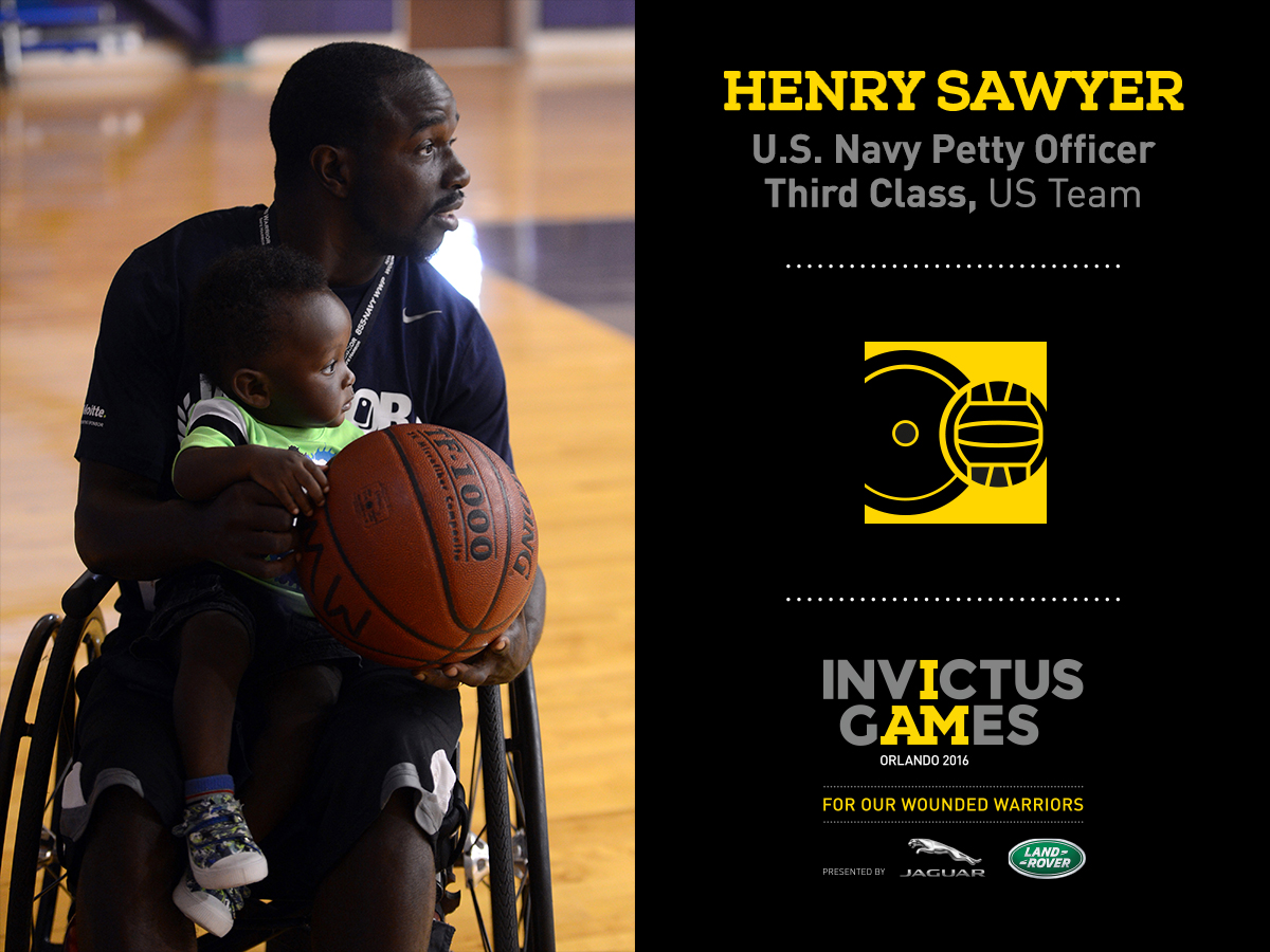 Henry Sawyer for Invictus Games