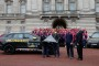 PEOPLE - 'See You in Orlando!' Prince Harry Passes the Flag for His Invictus Games at Buckingham Palace'