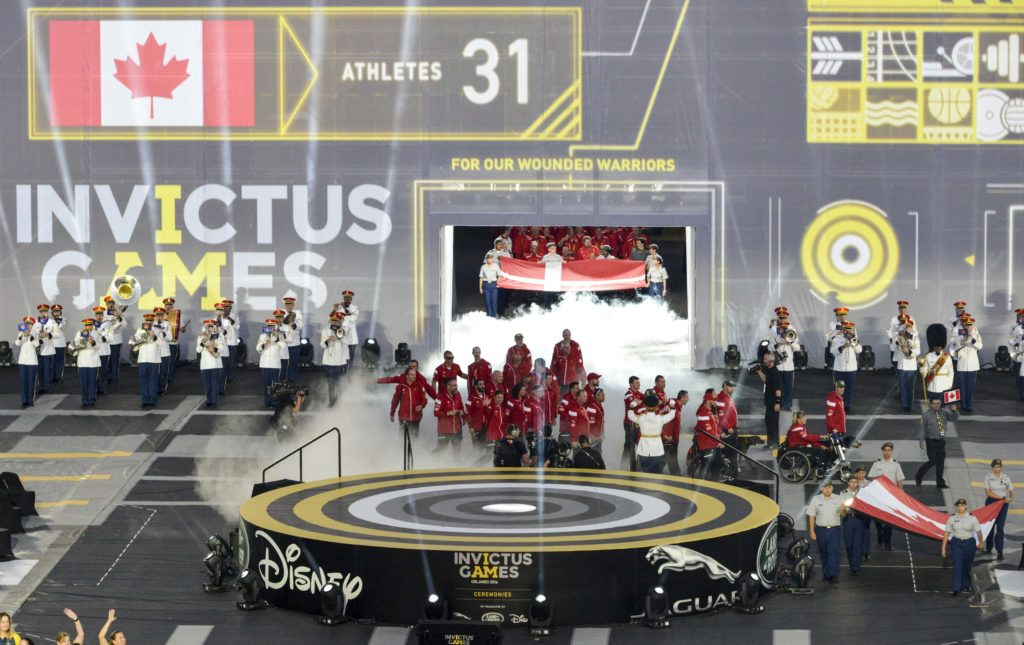 Opening Ceremony of the 2016 Invictus Games
