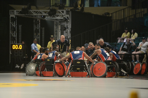 Coach Gumbert and Wheelchair Basketball at Invictus Games 2016