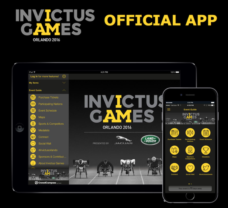 Mobile App for Invictus Games