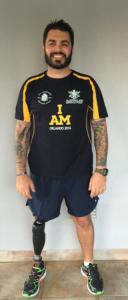 Australian Team Captain Paul Warren