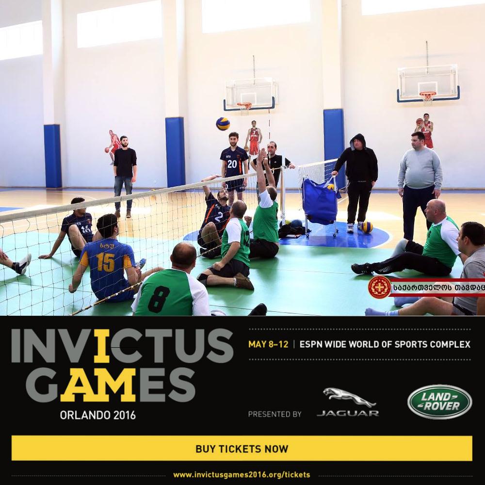 Estonia Team at Invictus Games 2016