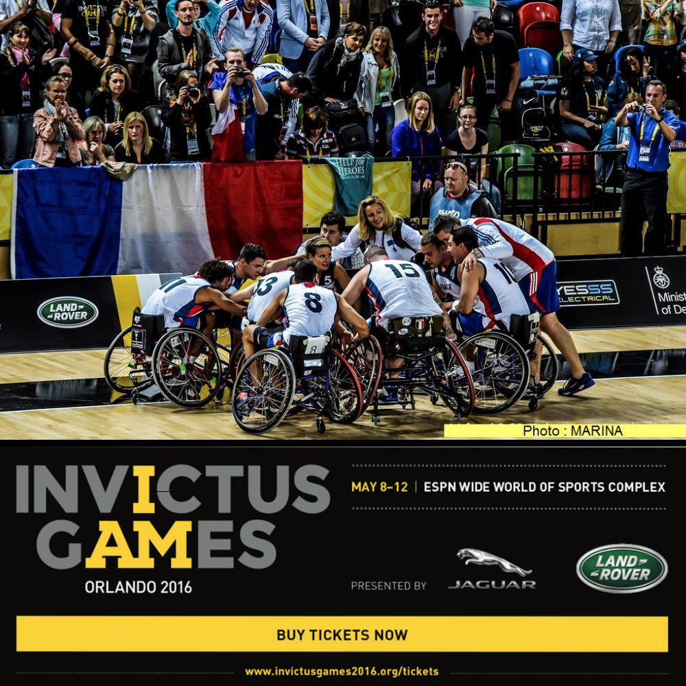 France Team at Invictus Games 2016