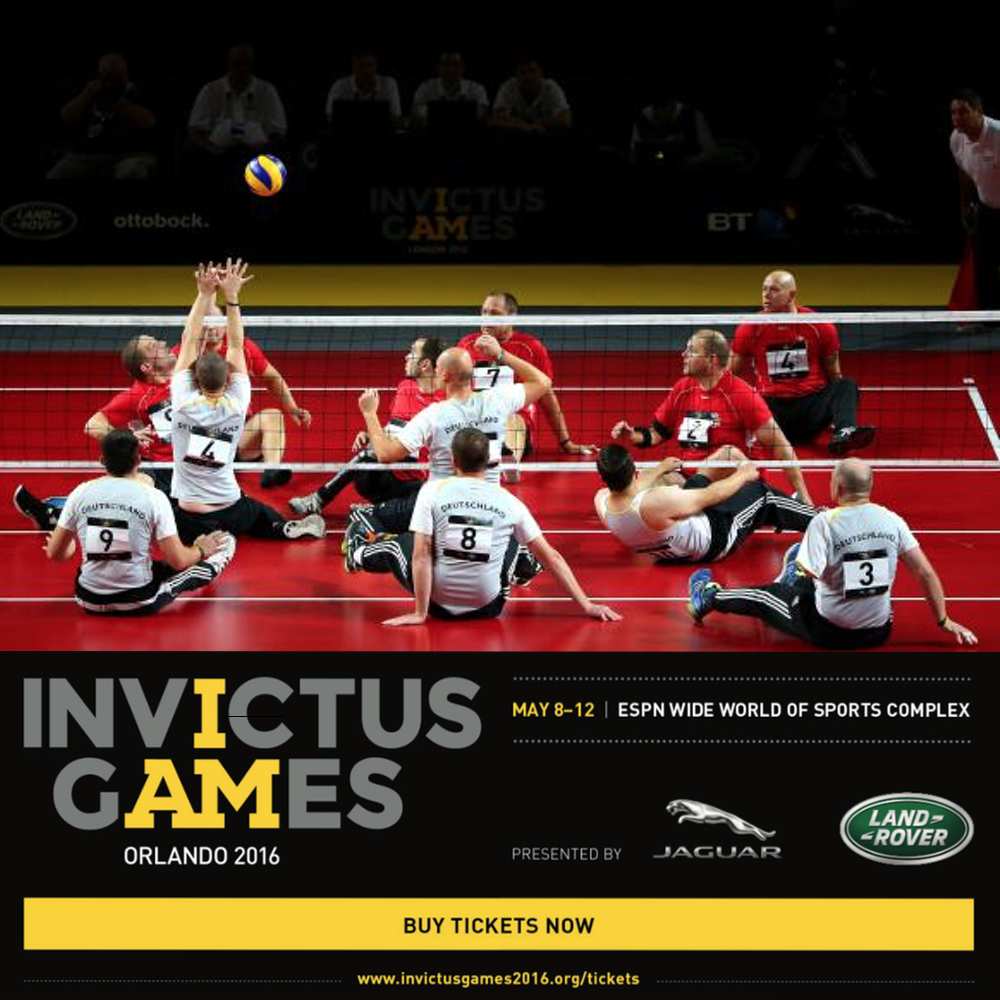 Germany Team at Invictus Games 2016