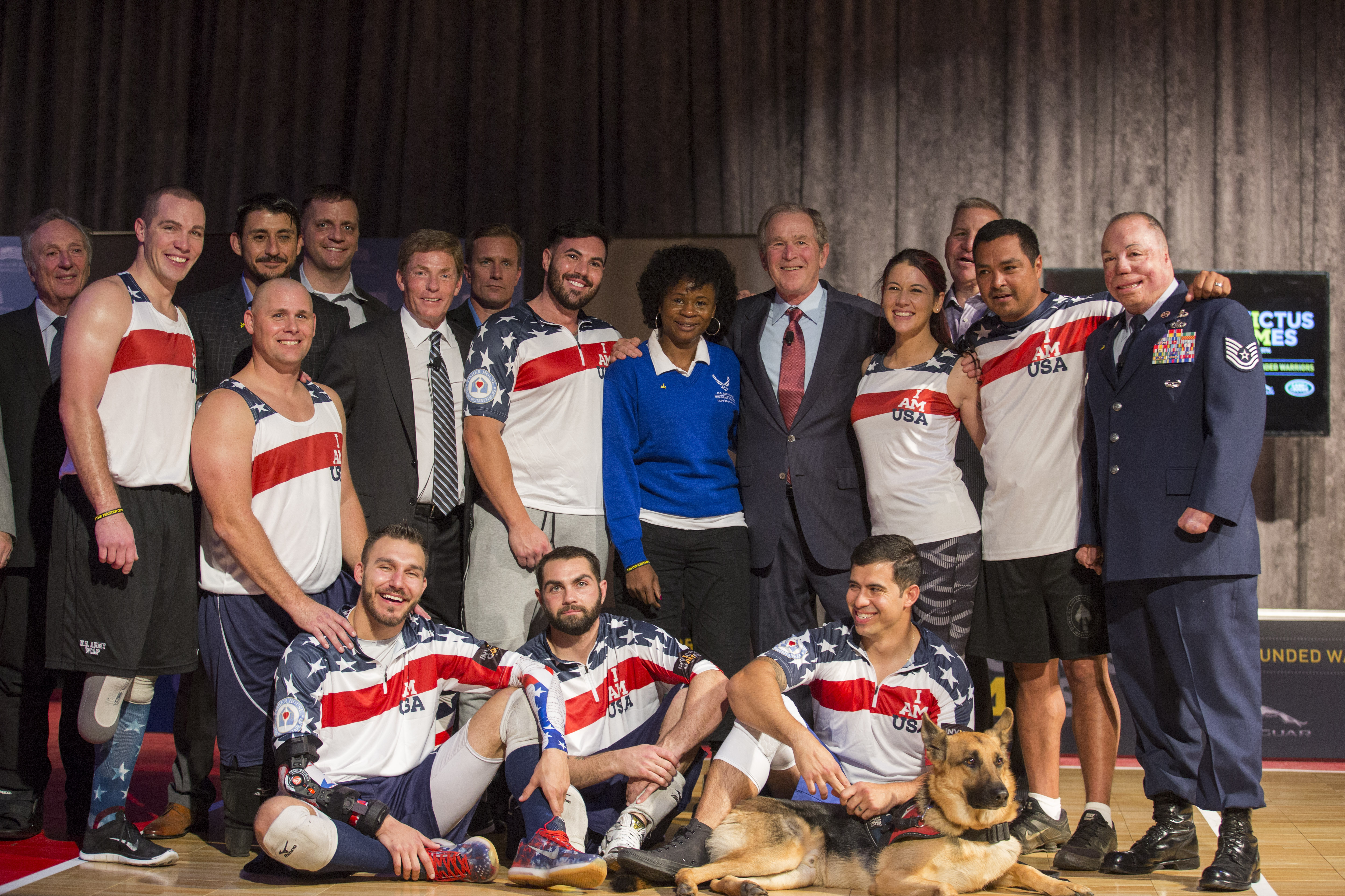 the invictus games symposium on invisible wounds presented by george