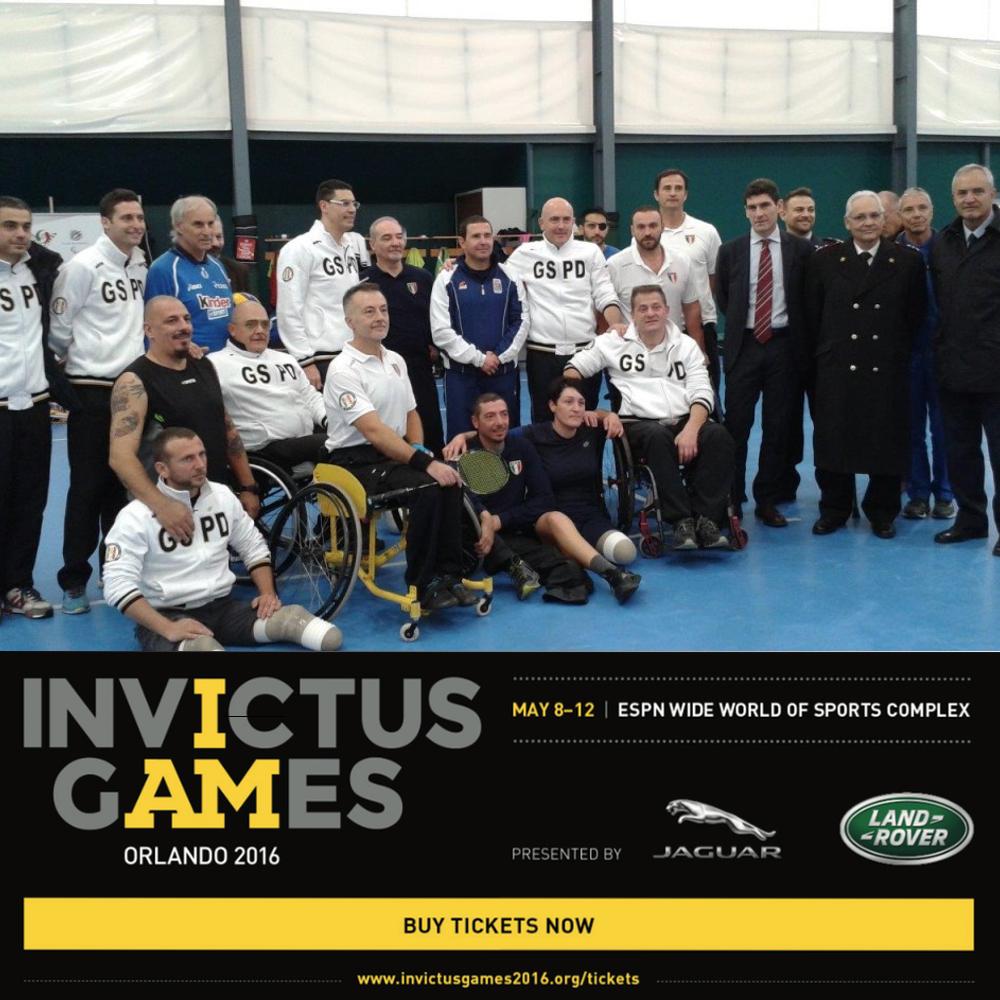 Italian Team at Invictus Games 2016
