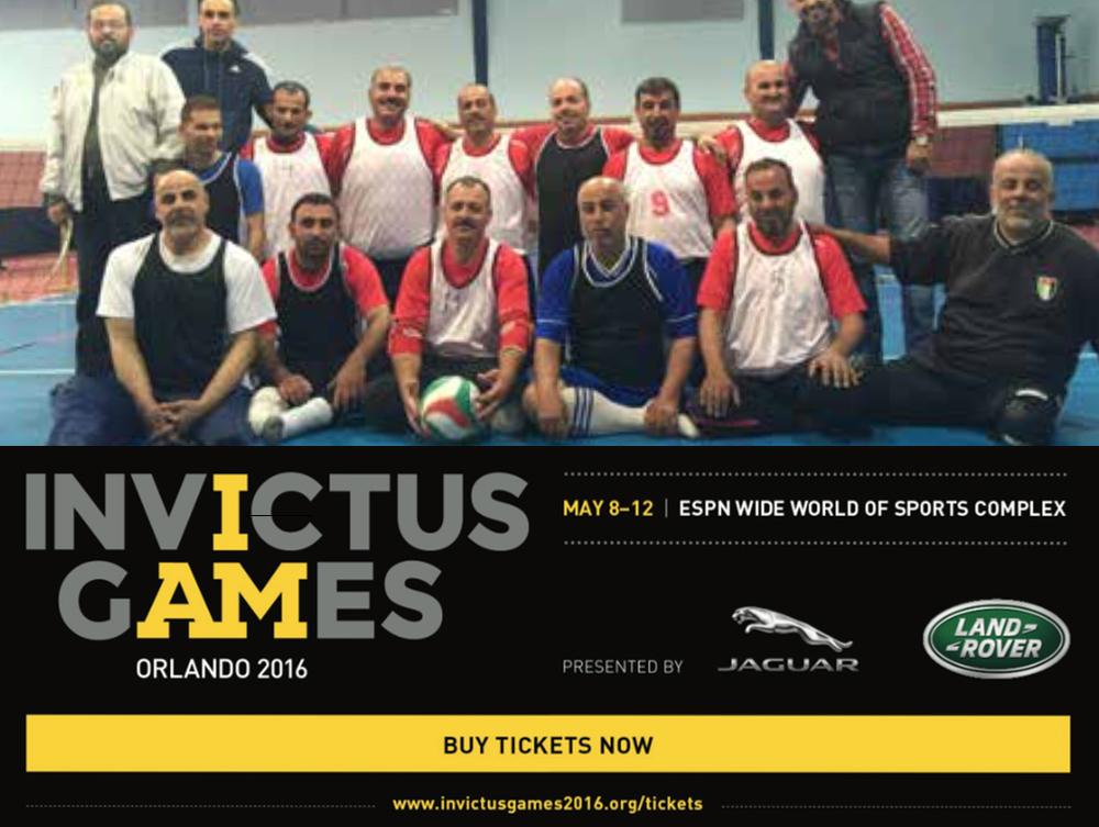 Jordan Team Competing at Invictus Games